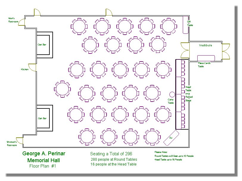 banquet hall layout floor plans submited images